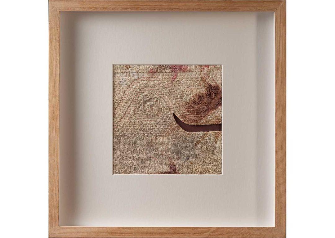 Arquetipo de naturaleza textil 1. Collage
