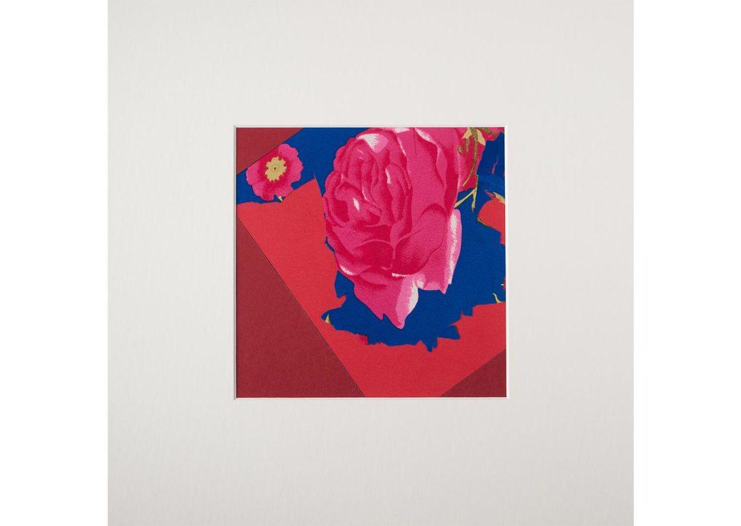 Collage con flor 2