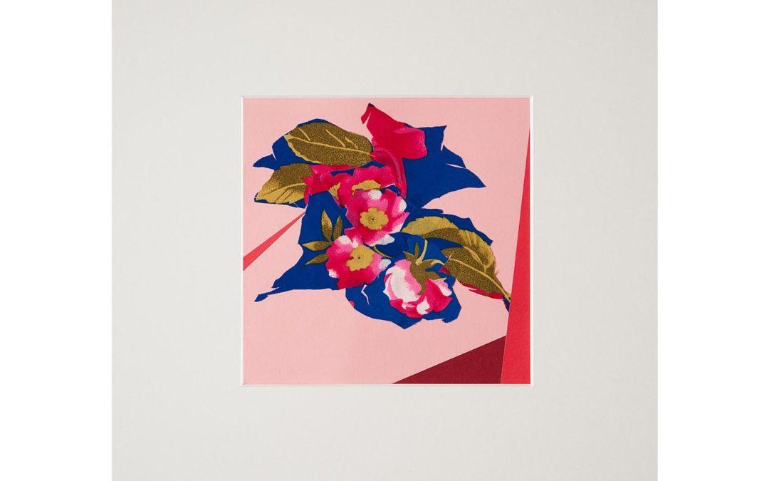 Collage con flor 3