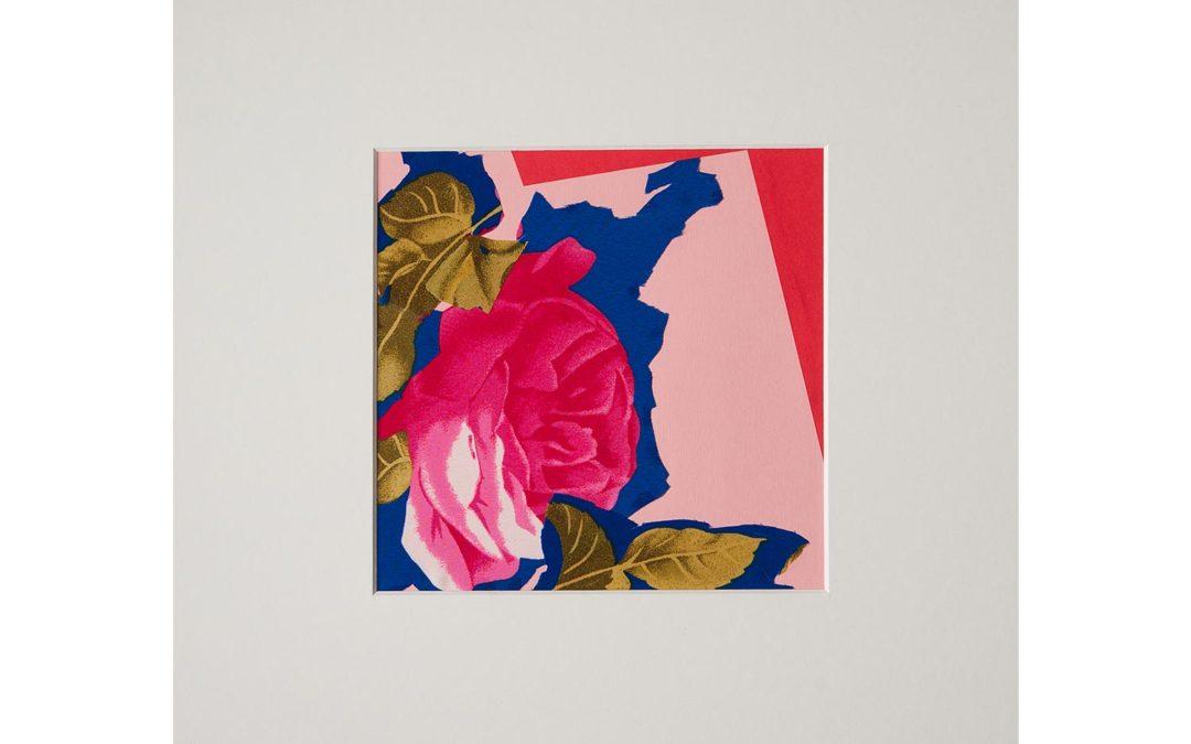 Collage con flor 4