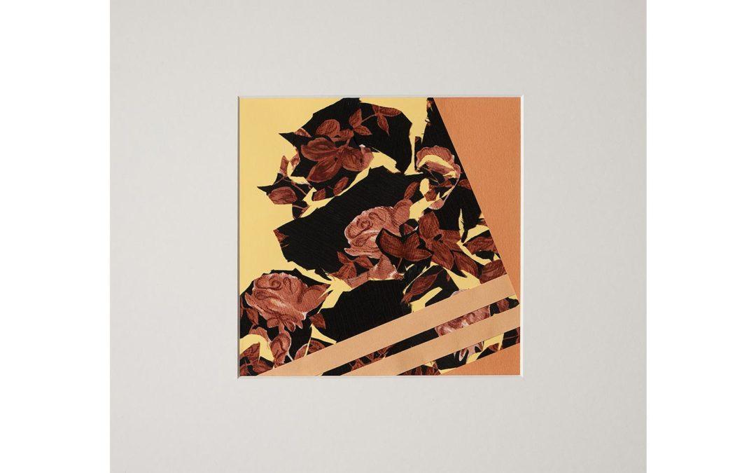 Collage con flor 6
