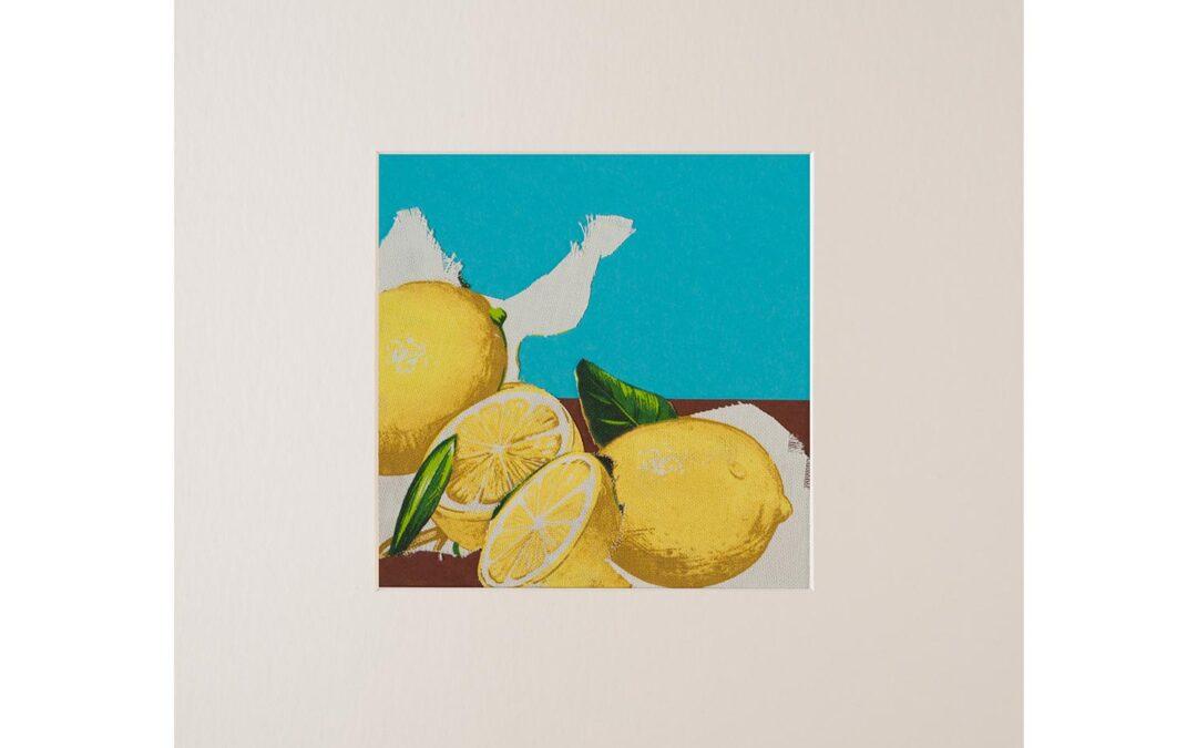 Collage con fruta 1