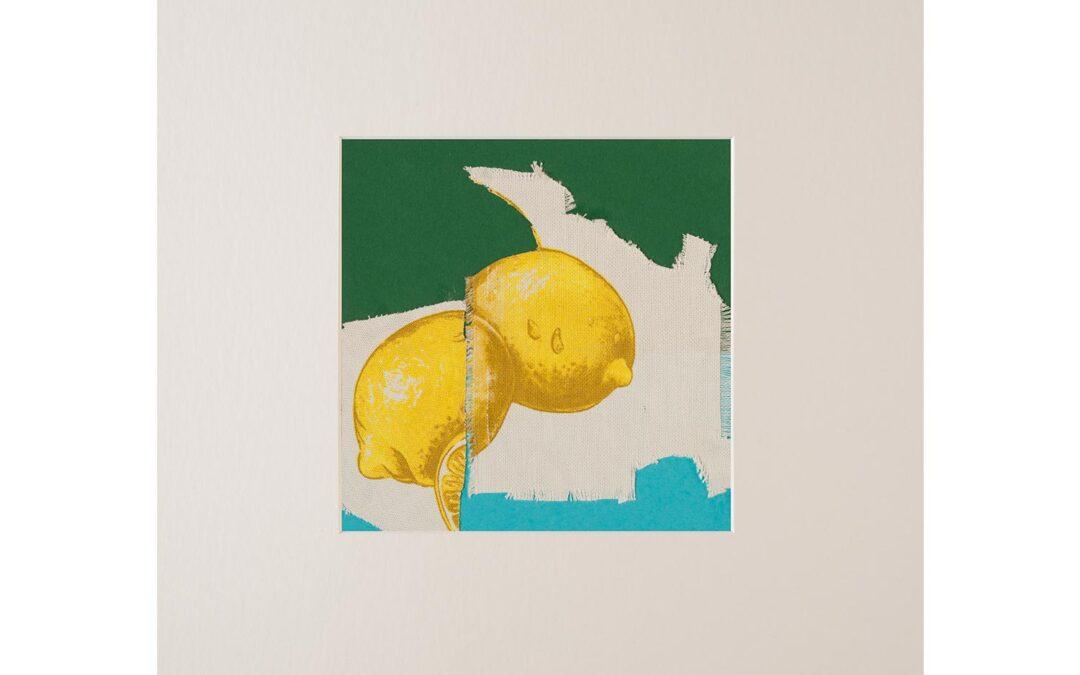 Collage con fruta 3